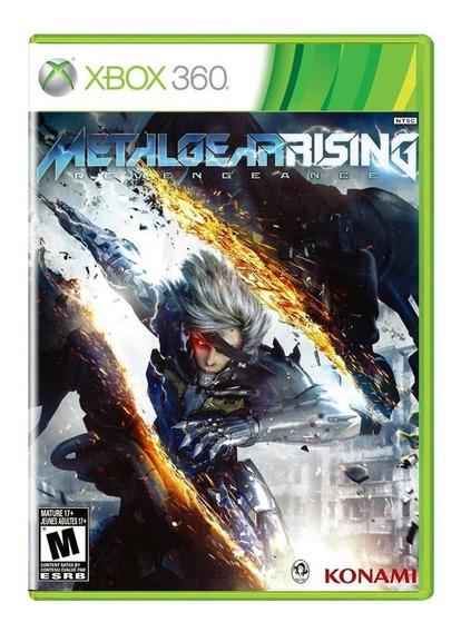 Metal Gear Rising Revengeance Xbox 360 Midia Fisica