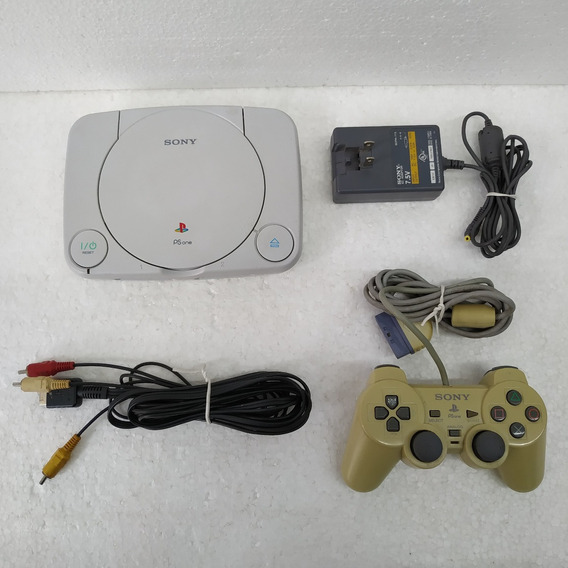 Sony - Playstation 1 - Ps One - Controle Original + Brindes