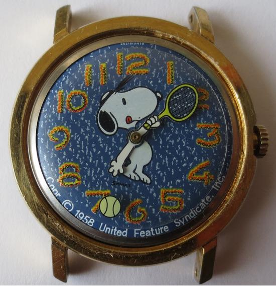 Reloj Coleccion Snoopy Timex