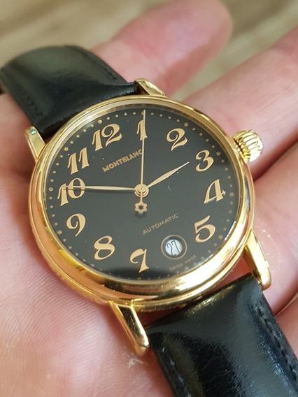 Relógio Mont Blanc Automático Original 36mm
