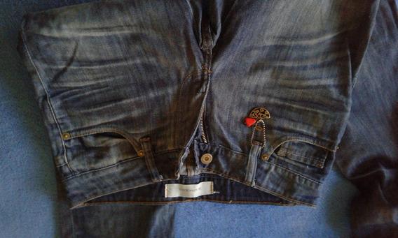 Jeans Rapsodia Como Nuevo Talle 40 Equivale A 25