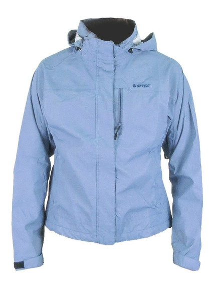 Campera Hi Tec Cloud Chaser Shell Impermeable Dri Tec Mujer