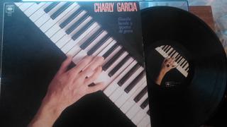 Charly Garcia Filosofia Barata Vinilo 1990 Insert -excelente