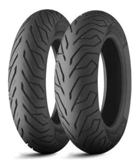 Pneu Citycom 300i Michelin Par 130/70-16+110/70-16 City Grip