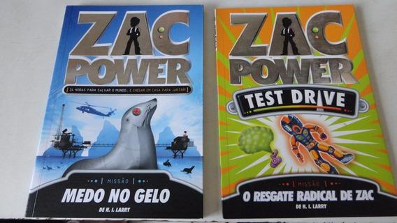 Zac Power H. I. Larry Lote De 6 Livros