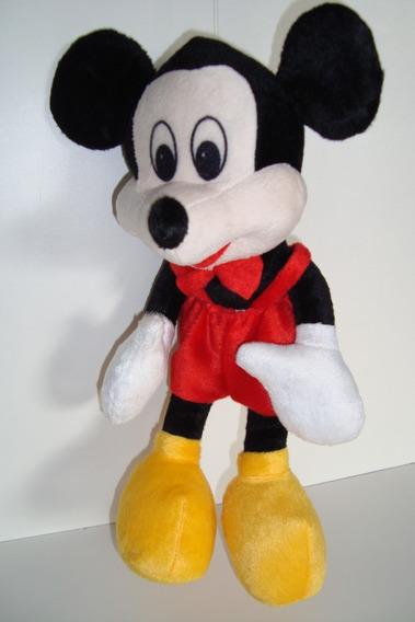 Urso De Pelúcia Mickey Mouse 37 Cm Material Anti Alérgico