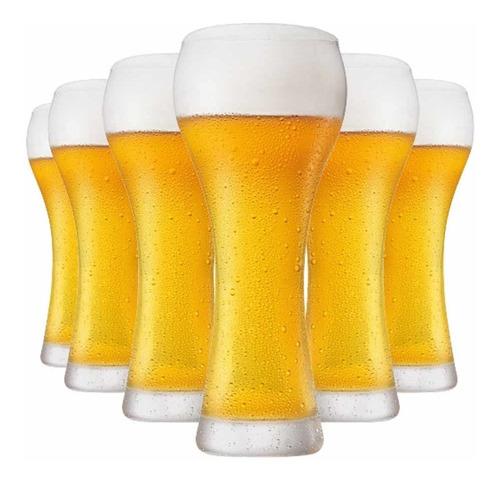 Jogo Copos Ritzenhoff Cerveja Premium G Cristal 500ml 6 Pcs