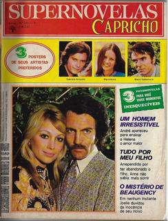 1973 Revista Supernovelas Capricho Nº 345a Abril Fotonovela