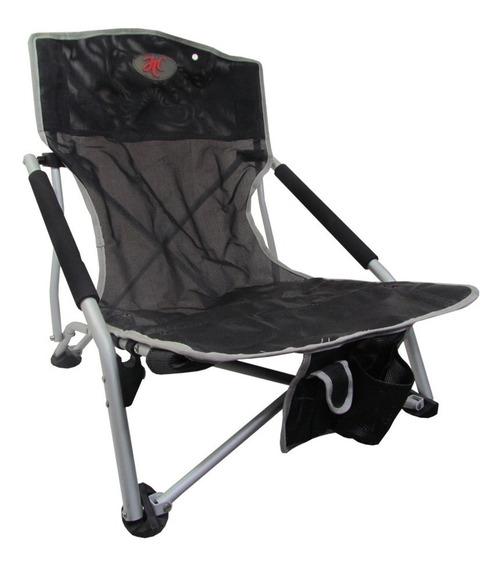 Silla Playera Camping De Aluminio Plegable Jtc Cool Grande