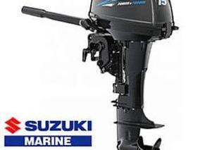 A Motor De Popa Suzuki 15 Hp ( 12 Vezes ) Miami Nautica - Sp