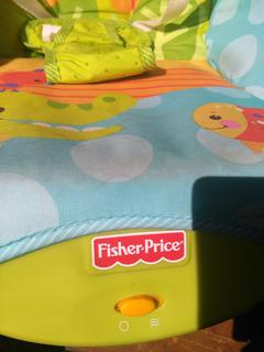 Silla Mecedora Para Bebe Fisher Price Vibración - Cómo Nueva