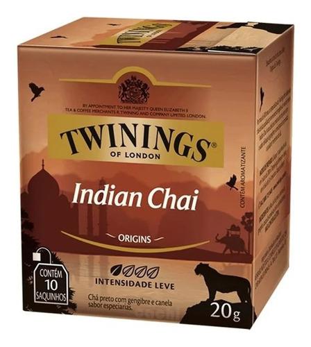 Te Twinings Indian Chai 10 Saquitos Exquisito Nuevo!