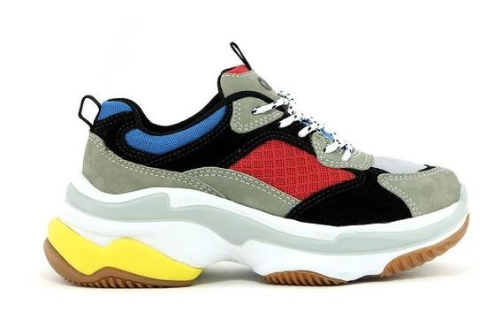 Tênis Chunky Sneaker Feminino Higher18 Qix Original Promoção