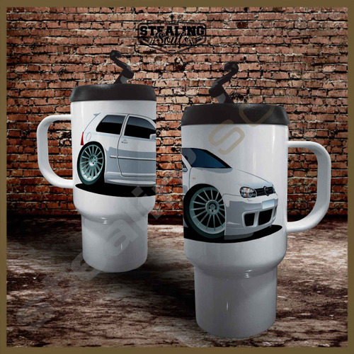 Jarro Termico Café | Volkswagen #0490 | Gti Kombi Vw Gli