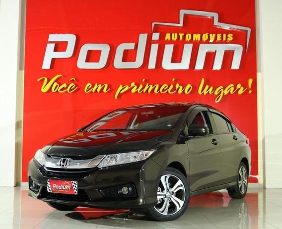 Honda City Lx 1.5 Flex Automático | Completo Baixa Km