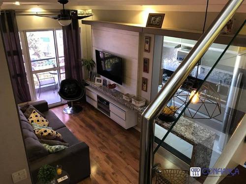 Imagem 1 de 30 de Cobertura Com 3 Dormitórios À Venda, 127 M² Por R$ 2.000.000,00 - Campo Grande - Rio De Janeiro/rj - Co0071