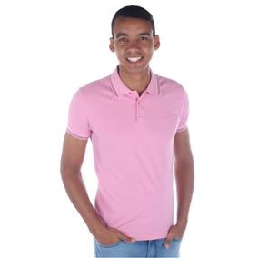 688148855c Camisa Polo Colcci Masculina Slim Com Detalhe Linhas Gola