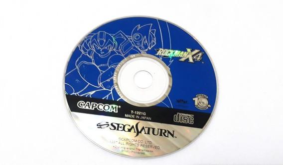 Rockman X4 - Sega Saturn