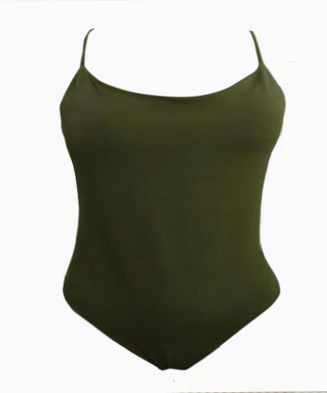 Body Alcinha Plus Size Roupa Feminina Suplex