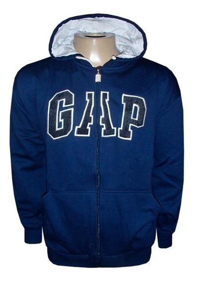 Kit 2 Casaco Blusa Frio Moletom Masculina Gap Ziper Promoção