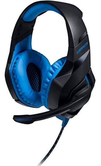 Headset Gamer Com Led 2.0 Usb Azul Multilaser Ph244