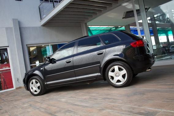 Audi A3 Sport Back 2.0 Fsi Nafta 2007 Negro