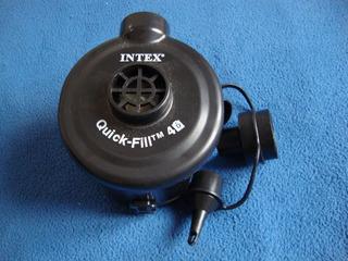 Bomba De Ar - Double Quick Fill Tm - 10ap639 - Elétrica A Pilha - Intex