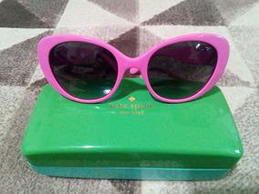 6c6127646 Óculos Kate Spade Rosa Gatinho - Original Com Estojo!