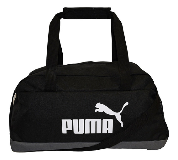 Bolsa Puma Phase Sports Unissex - Preto E Cinza