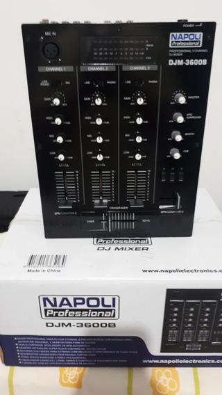 Mixer Napoli Djm3600b Black