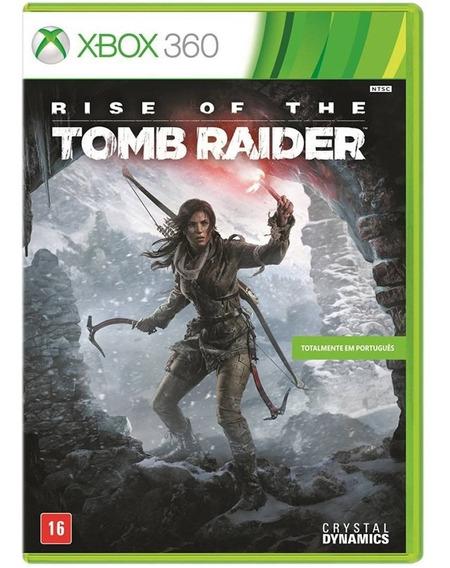 Rise Of The Tomb Raider (mídia Física 100% Pt-br) - Xbox 360