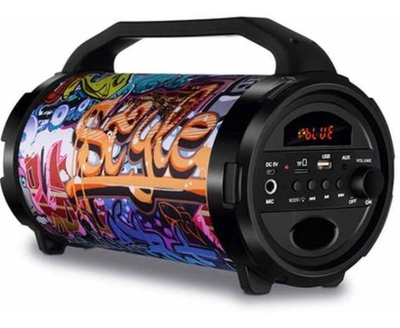 Caixa De Som Mondial Mco-11 Potência 50w Radio Fm Usb