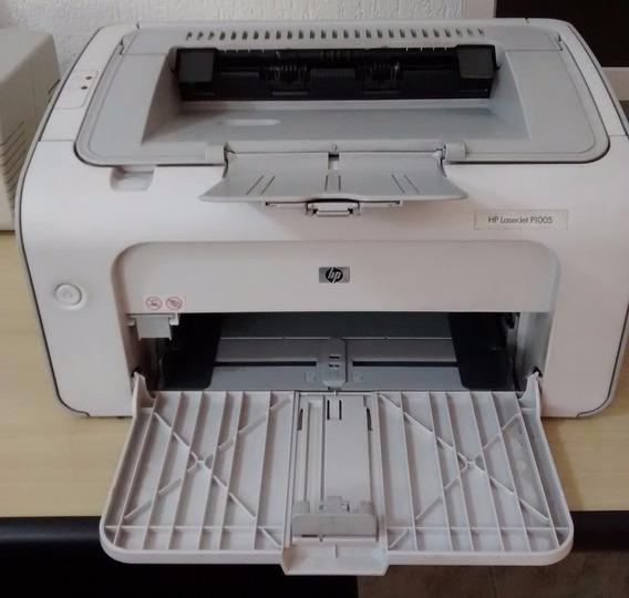 Impressora Hp Laserjet P1005 Com Toner Cheio