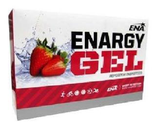Gel Ena Cajas Enargy Cafeina + Ginseng Energía 12 Unidad