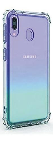 Funda Protectora Tpu Para Samsung Galaxy A30 Reforzada