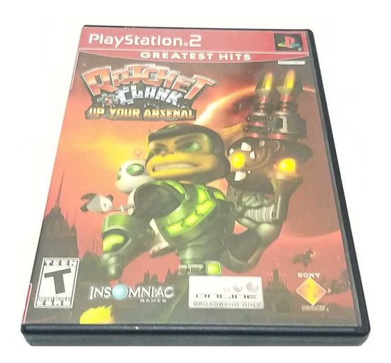 Ratchet & Clank Up Your Arsenal Playstation 2 Ps2 Completo