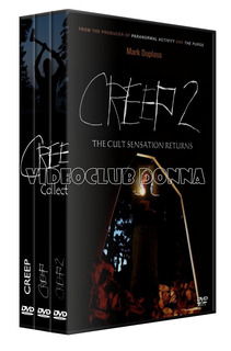 Creep Saga Colección Completa Dvd 3 Peliculas Pack