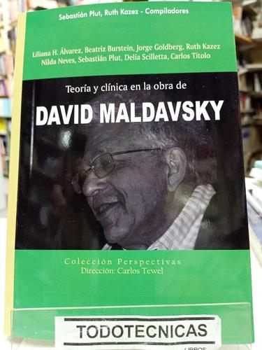 Imagen 1 de 3 de Teoria Y Clinica En La Obra De David Maldavsky  - Plut  -rv
