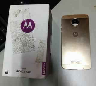 Motorola Z Ed. Limitada/ouro Branco-p Conserto-retirar Zn/sp