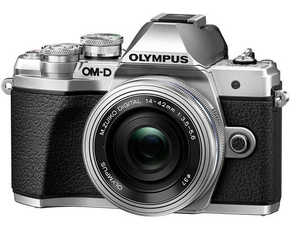 Câmera Olympus E-m10 Mark Iii C/ 14-42mm Garantia Nfe