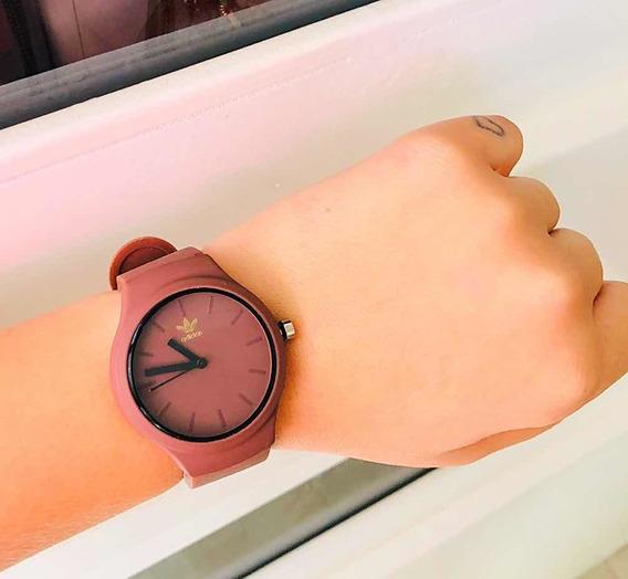 Relógio Unissex Marrom