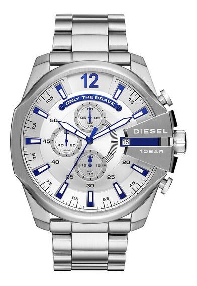 Relógio Diesel Masculino Mega Chief Nf + 2 Anos Garantia