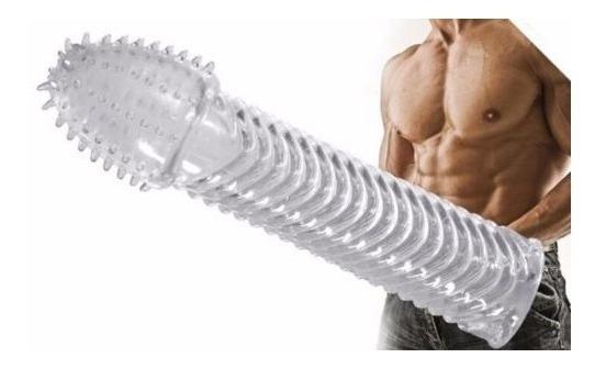 Camisinha Preservativo Silicone Reutilizável 15.2 Cm