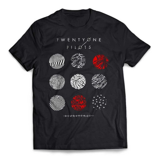 Camiseta Twenty One Pilots Blurryface Rock Activity