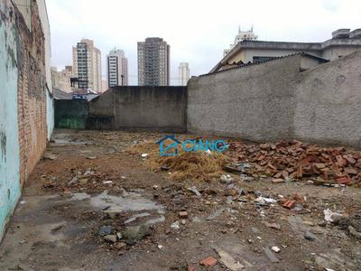 Terreno À Venda, 250 M² Por R$ 799.000 - Mooca - São Paulo/sp - Te0019