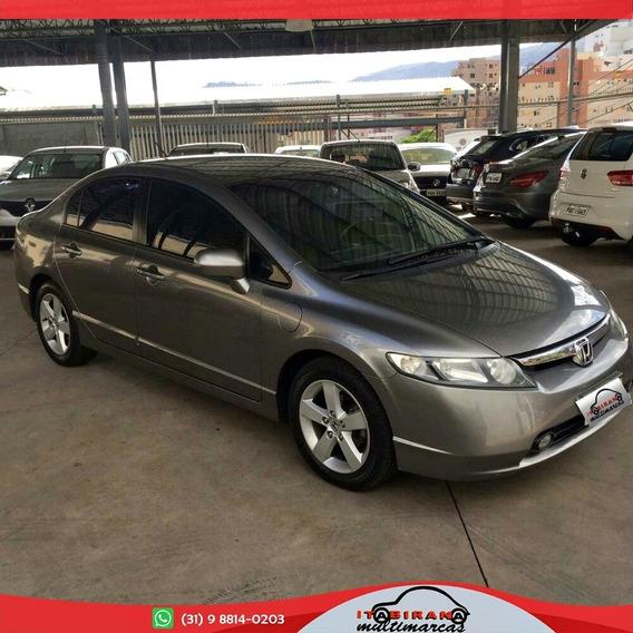 Honda Civic Sedan Lxs 1.8 16v Mec. 4p Flex 2007/2007
