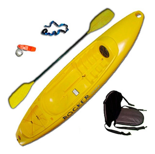 Kayak Rocker One C2 1 Pers. Con Accesorios Local Free Terra