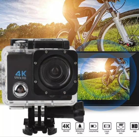 Câmera De Ação 4k Full Hd A Prova D