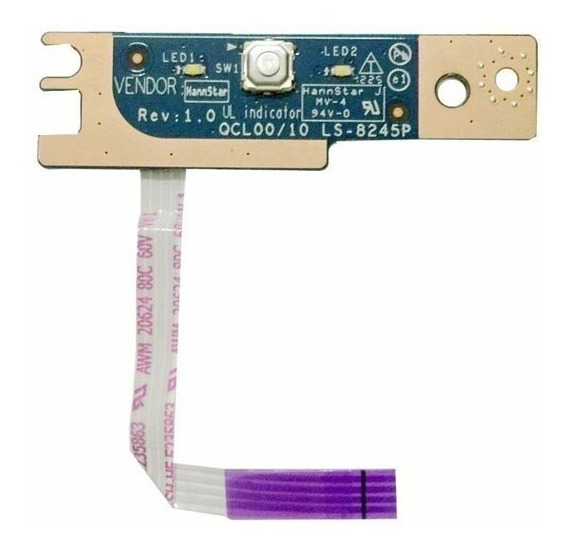 Placa Power Button On/off Dell Inspiron 7520 5520 Ls-8245p