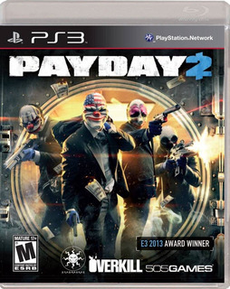 Payday 2 Ps3 Físico Nuevo